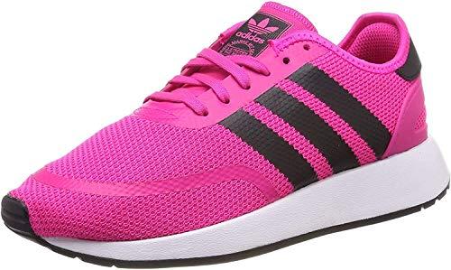 adidas Unisex-Kinder N-5923 J Gymnastikschuhe, Pink (Shock Pink/Core Black/Ftwr White), 38 2/3 EU (5.5UK)