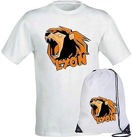 Sacca Impermiabile con Team Wgf Lyon Logo per Bambini Ragazzi ...