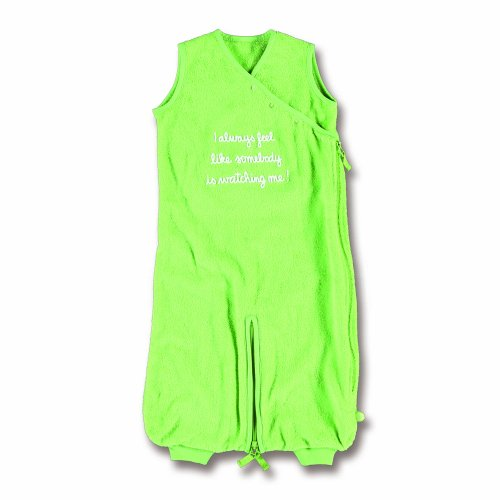 Bemini by Baby Boum 154SEPFT73 Schlafsack Frottee 0-9 m Funny Text 73, punch