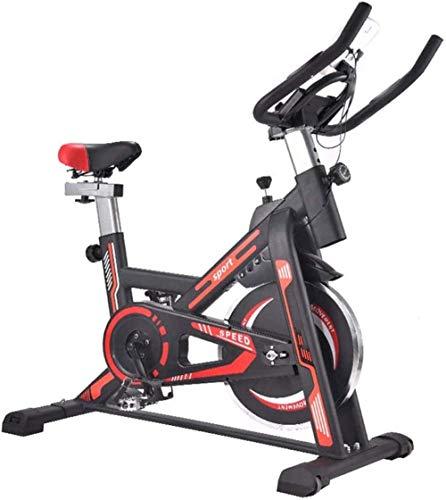 Bicicletas de ejercicio inteligente Monitoreo en el hogar Ultra-Quiet Fitness Pedal Spinning Bike Control magnético profesional pérdida de peso deportes