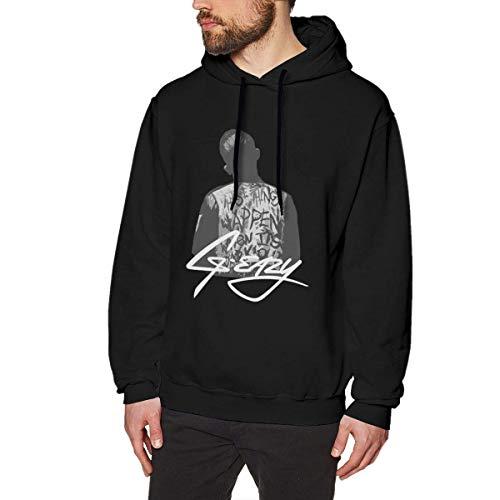 Herren Neuheit Hoodies Activewear Top Hoodies Herren Hoody Men's Ultra Soft Hoodie Sweatshirt Unique Design with G-Eazy