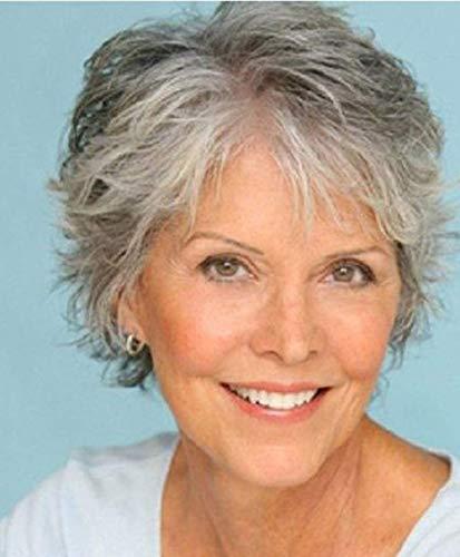 conseguir pelucas mujer blanco plateado on line