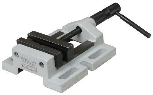Optimum 027op0200Maschinen-Schraubstock, Typ BSM 200mit Prismen, Backenbreite 200mm