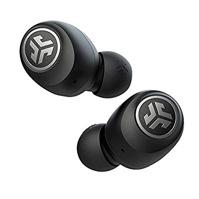 JLab Audio Go Air True Wireless Bluetooth Earbuds + Charging Case | Dual Connect | IP44 Sweat Resistance | Bluetooth 5.0 Connection | 3 EQ Sound Settings: JLab Signature, Balanced, Bass Boost…