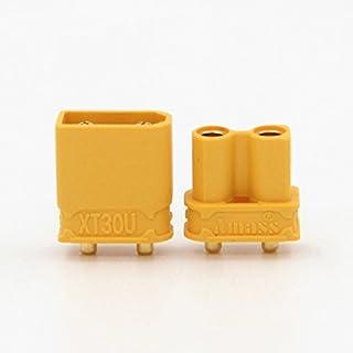 KINGDUO 10 x Amass xt30Upb xt30 Upb 2Mm Mâle Connecteurs Femelles De Balle S pour PCB