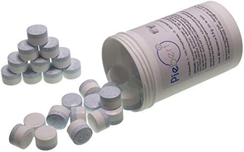 Piebert 2-Phasen Reinigungstabletten kompatibel / Ersatzteil für Kaffeevollautomaten | 40 Tabletten in Dose je 3,5g inkl. Bruchschutz | Tiefenwirksam | Piebert® Qualität Made in Germany