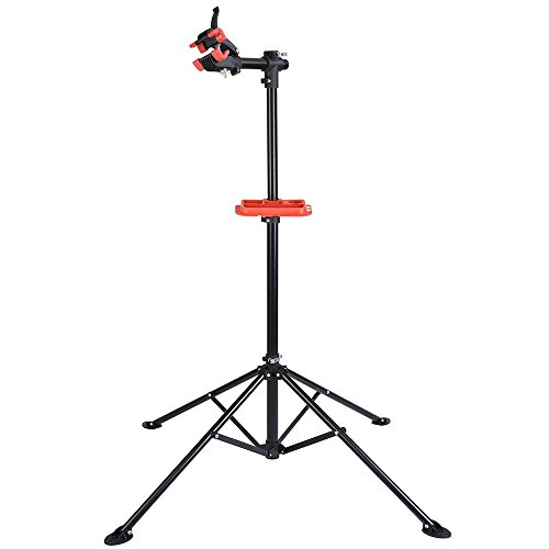 "AW Adjustable Bike Repair Stand Telescopic Arm Cycle Bicycle Rack 42"" to 74"" Rotate 360 Degrees"
