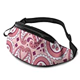 XCNGG Freizeit Hüfttasche Camping Tasche Bergsteigertasche Psychedelic Art Fanny Packs for Women and Men Waist Bag Adjustable Belt for Outdoors Workout,Traveling,Casual Running,Hiking,Cycling,Walking