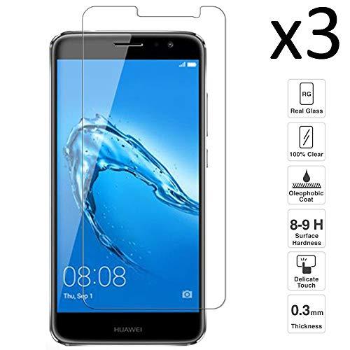 iGlobalmarket [3 Unidades Protector de Pantalla Huawei Nova Plus, Vidrio Templado, sin Burbujas, Alta Definicion, 9H Dureza, Resistente a Arañazos