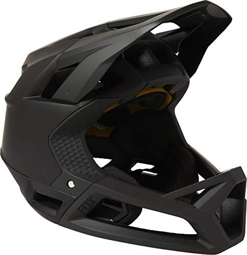 FOX Enduro Proframe - Casco de bicicleta de montaña (talla XL), color negro