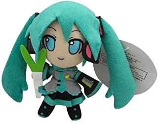 "Hatsune Miku Plush 6""/15cm Smile Doll Stuffed Animals Cute Soft Anime Collection Toy"