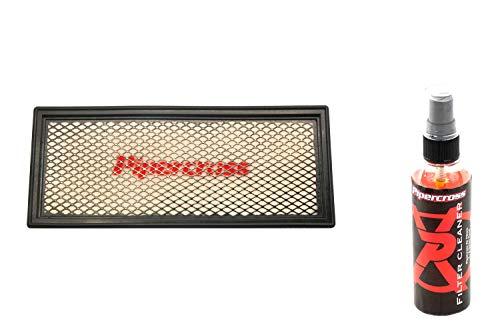 Pipercross Filtro de aire + limpiador compatible con Audi Q5 8R 2.0 TFSi 180/211/220/225 PS 11/08-01/17