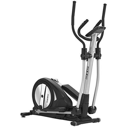 Maxxus Crosstrainer CX 3.0 - Bicicleta elíptica silenciosa que ocupa poco espacio, control Bluetooth. 26 kg de masa oscilante para entrenamiento en casa