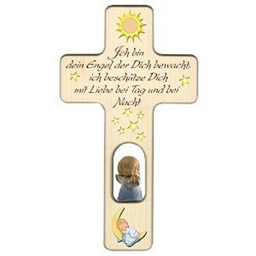 Holzkreuz für Jungen zu Geburt, Taufe oder Kindergeburtstag/Dekoration/mit Aufhängung