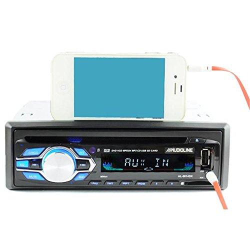 Boomboost Bluetooth Mains Libres dans la Voiture stéréo de Voiture Dash Lecteur MP3 Unité Principale de USB/FM/CD/DVD