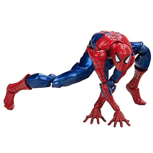 BSHM Doll Toys, Marvel Avengers Yamaguchi Spider-Man Model Toys, Collectibles Decoration