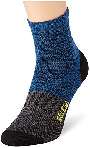 Salewa Approach Comfort Sock, Calzini Unisex-Adulto, Prince Blue/Asphalt, 41-43