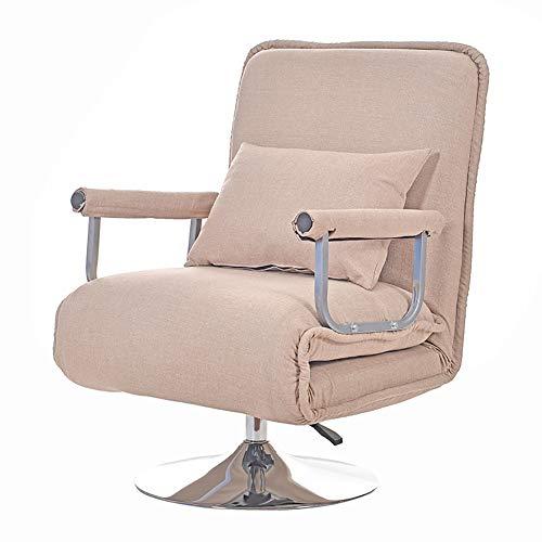 XIAMIMI 360 Grad-Schwenker Video Rocker Gaming Chair einstellbare Winkel Stuhl Klappboden Stuhl-Wohnzimmer-Möbel Ergonomisches Design,Rosa