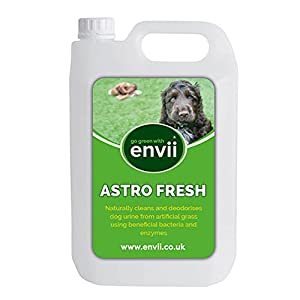 Envii Astro Fresh – Artificial Grass Cleaner for Dogs Urine, Ready To Use and Easy To Apply Spray – Treats 500m2 (5L Refill)