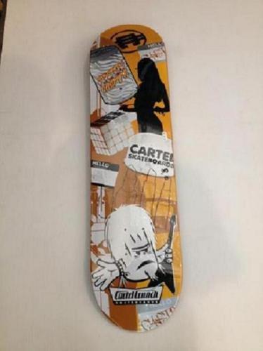 Cartel Mishmash Skateboard Design 31,5cm