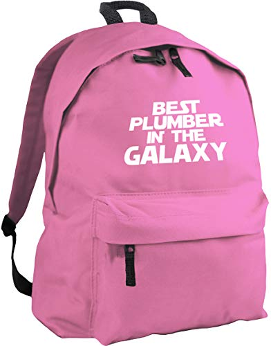 HippoWarehouse Best Plumber in The Galaxy Backpack ruck Sack Dimensions: 31 x 42 x 21 cm Capacity: 18 litres