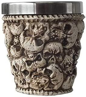 スカルグッズ・スカルヘッズ(頭蓋骨)ショットグラス Ossuary Skull Shot Glass