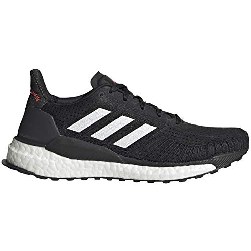 adidas Solar Boost 19 Shoe - Women's Running Core Black/White/Signal Pink