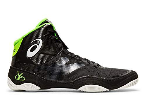 ASICS Men's JB Elite IV Wrestling Shoes, 8.5M, Black/White