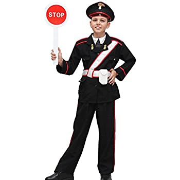 Vestito Carabiniere Bambino.Pegasus Vestito Costume Maschera Di Carnevale Bambino Carabiniere Taglia 8 9 Anni 115 Cm Amazon It Giochi E Giocattoli