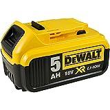 POWERY Batteria per utensile Dewalt Tipo DCB184 per Macchina Raggi X 18V 5,0Ah Ioni di Litio, Li-Ion, 18V