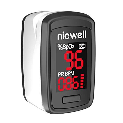 (60% OFF Deal) Pulse Oximeter Fingertip Oxygen Sensor LED Display $14.39