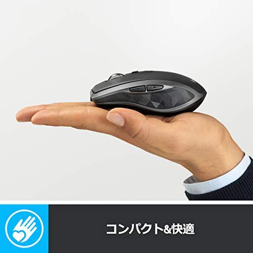 41KaFkNx48L-「Logicool MX Master 2S」ワイヤレスレーザーマウスを購入したのでレビュー!