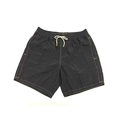Zeybra Männerkostüm Boxer-Shorts Schwarz Mod AUB001 100% Polyamid Made in Italy - Schwarz, 58