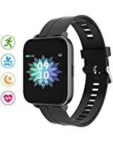 N-A Fitness Tracker,Smart Watch,Activity Tracker Watch with Heart Rate Monitor, Waterproof Smart Fitness Band with Step Counter, Calorie Counter, Pedometer Watch for Women and Men