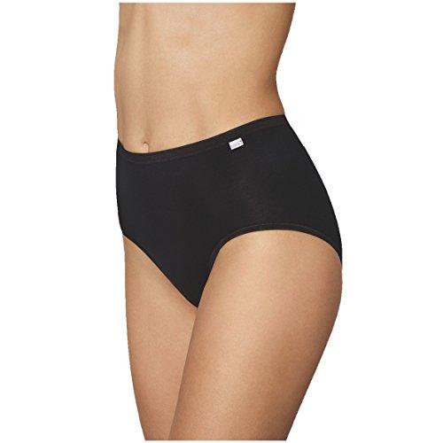 Speidel Damen Basic Taillenslip 5er Pack 9826 Größe 46, Farbe schwarz