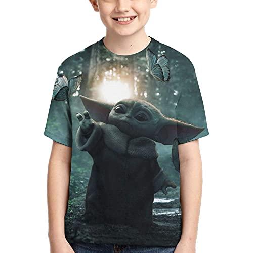 AMCYT Camiseta de Darth Va-der de Darth Va-der con impresión 3D, 04, medium