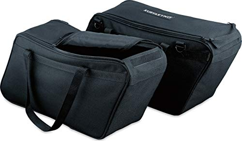 Discover Bargain Kuryakyn 4170 Motorcycle Travel Luggage: Removable Saddlebag Liners with Carrying H...