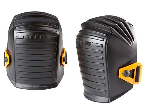 ToughBuilt - Waterproof Professional Knee Pads - Scratch Resistant & Foam Inner Shell - (TB-KP-102)
