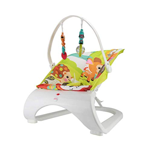 ZWQ Multifunktionale Babyschaukelstuhl, Kinderschaukelstuhl, neugeborenes Baby Schaukelstuhl, Komfort Stuhl,B