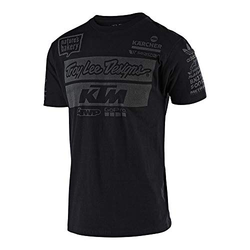Troy Lee Designs T-Shirt KTM Team Schwarz Gr. M