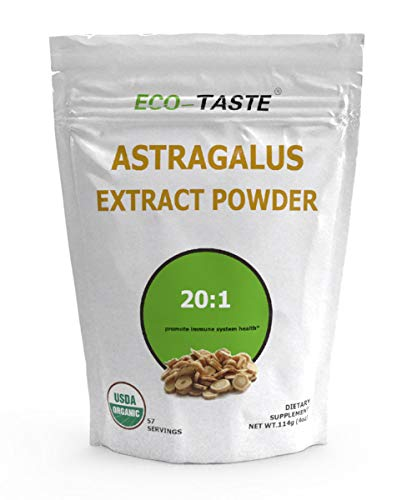 Astragalus Extract Powder 20:1, 114 Grams