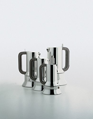 Alessi 9090/6 FM Espressomaschine aus Edelstahl