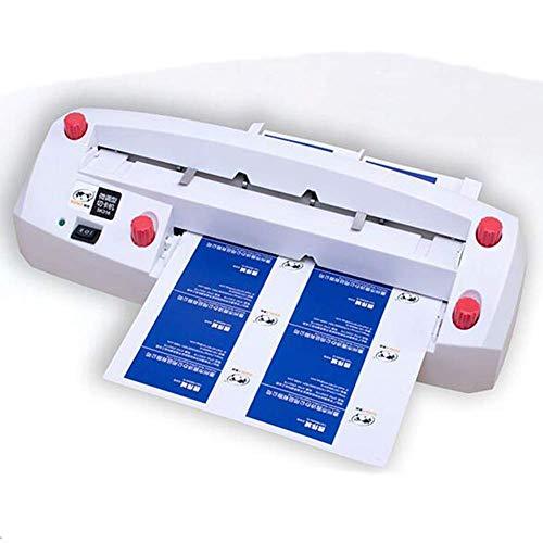Cortador de tarjetas de visita, máquina de encuadernación automática, cortador de tarjetas de visita, cortador de tarjetas de visita ajustable, para tarjetas de 8,9 x 5,1 cm