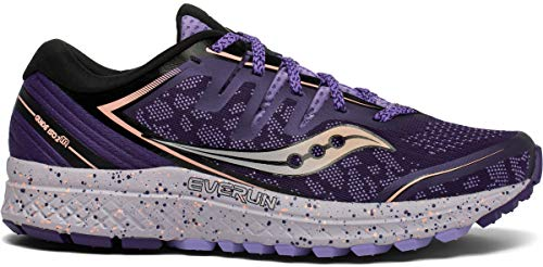 Saucony Women's Guide ISO 2 TR Trail Running Shoe, Purple - 9.5
