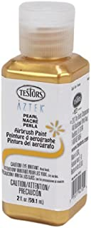Testors Airbrush Paint, Pearl Gold