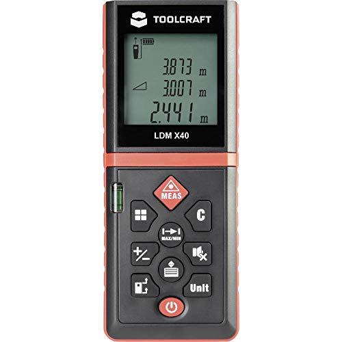 TOOLCRAFT LDM X40 Laser-Entfernungsmesser Messbereich (max.) 40 m