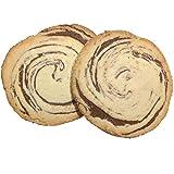 Vestakorn Galleta de masa quebrada, 2x galletas veganas, repostería artesanal, 2 piezas