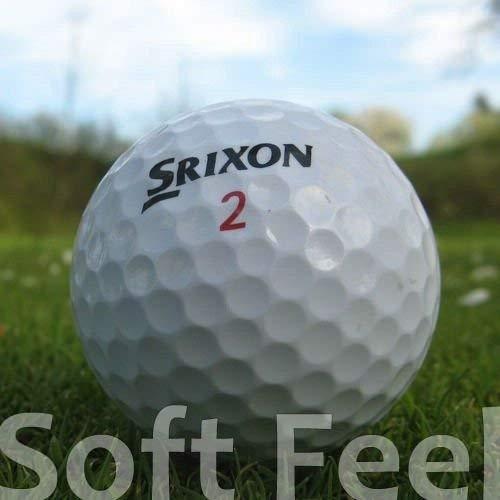 Srixon 50 Soft Feel BALLES DE Golf RÉCUPÉRATION/Lake Balls...
