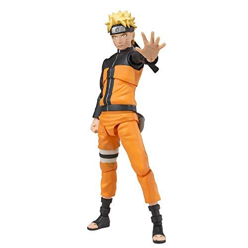 Khosd Naruto Shippuden Naruto Uzumaki Anime Figura de accion PVC Juguetes Figuras de coleccion para Regalo de Amigo - Alto 14cm