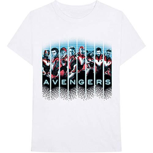 T-Shirt # Xxl Unisex White # Avengers Portraits